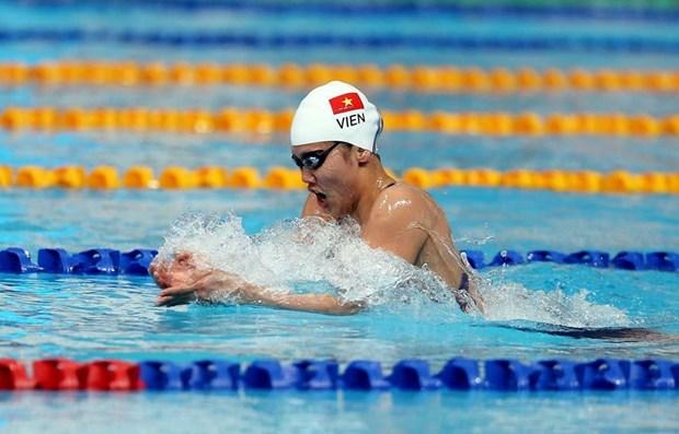 SEA Games 30: Anh Vien gianh huy chuong Vang boi 200m hon hop nu hinh anh 1