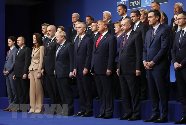 Cac nha lanh dao NATO ra tuyen bo chung khang dinh tinh doan ket hinh anh 1