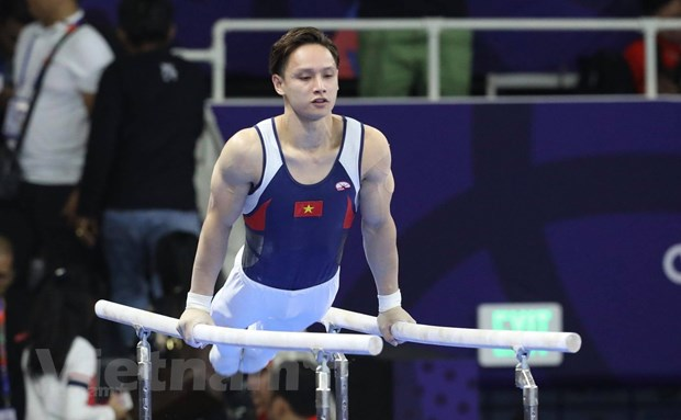 SEA Games 30: Dinh Phuong Thanh mang ve 2 HCV cho the duc dung cu hinh anh 1