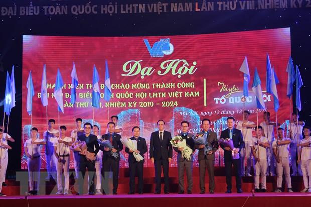 Ha Noi chao mung Dai hoi Hoi Lien hiep Thanh nien Viet Nam lan thu 8 hinh anh 2