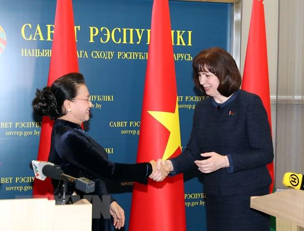 Viet Nam-Belarus: Tang cuong quan he truyen thong, hop tac nhieu mat hinh anh 1