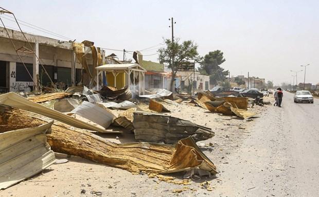 LHQ: Khung hoang Libya phai duoc giai quyet bang bien phap chinh tri hinh anh 1