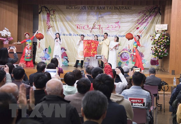 Nhat Ban: Ra mat Ban chap hanh Hoi nguoi Viet tai tinh Ibaraki hinh anh 2