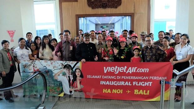 Vietjet Air khai truong duong bay thang Ha Noi - Bali hinh anh 2