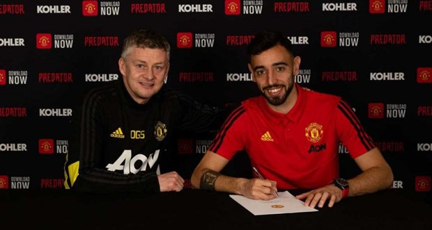 Manchester United chieu mo thanh cong Bruno Fernandes hinh anh 1