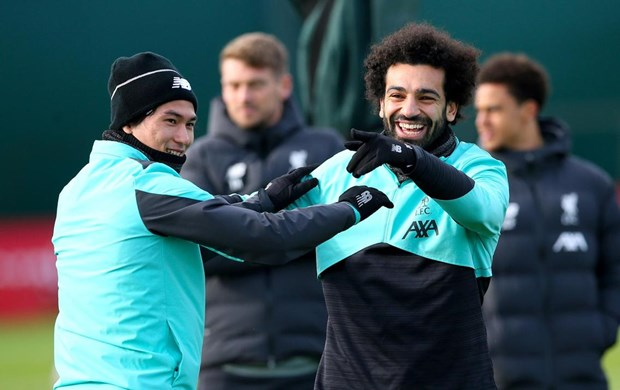 Liverpool tich cuc chuan bi cho tran dau voi Atletico Madrid hinh anh 1