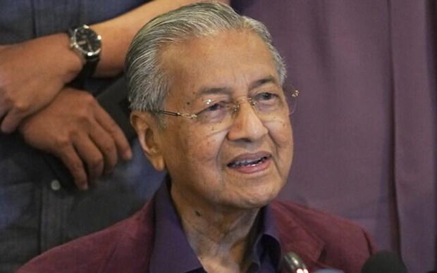 Quoc vuong Malaysia chap thuan don tu chuc cua Thu tuong Mahathir hinh anh 1