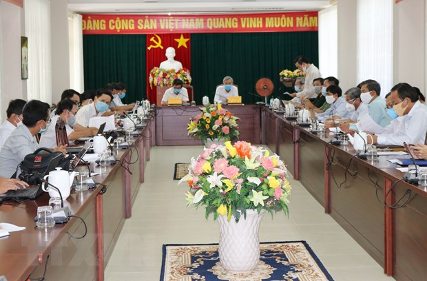 Ninh Thuan no luc han che thiet hai do dich COVID-19 gay ra hinh anh 1