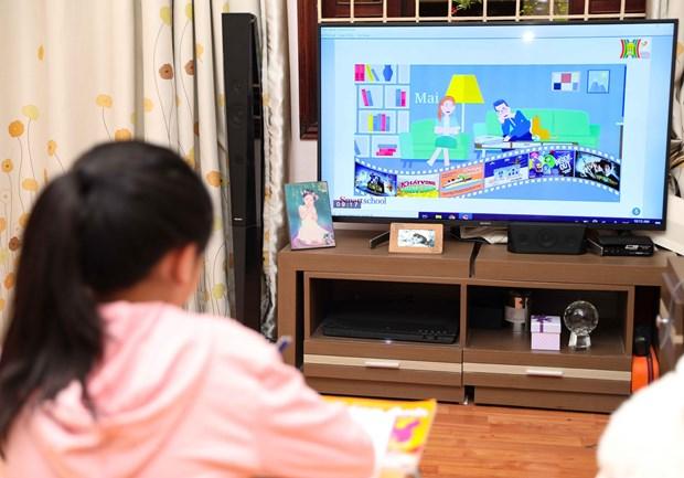 Bo GD-DT huong dan chi tiet viec day hoc qua Internet va truyen hinh hinh anh 4