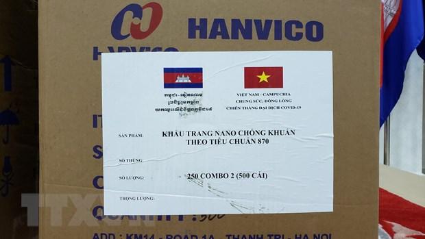 Campuchia cam on Viet Nam vien tro thiet bi y te chong dich COVID-19 hinh anh 2