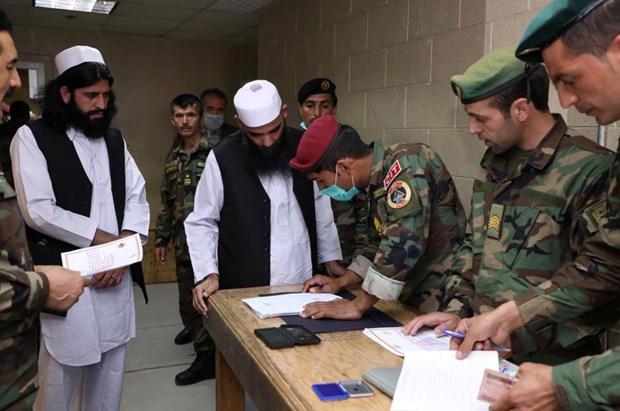 Chinh phu Afghanistan tiep tuc phong thich them 100 tu nhan Taliban hinh anh 1