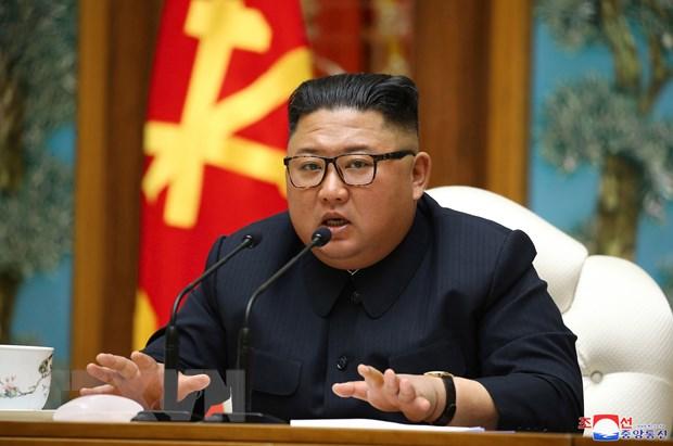 Nha lanh dao Trieu Tien gui thu dong vien cac cong nhan xay dung hinh anh 1