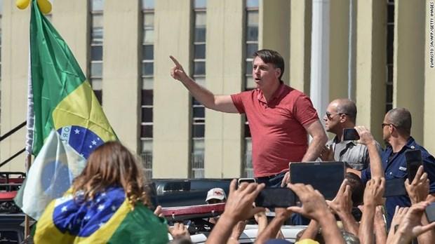 Brazil tiep tuc pha ky luc ve so ca mac benh COVID-19 trong mot ngay hinh anh 1
