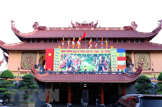 Giao hoi Phat giao Viet Nam to chuc trong the Dai le Phat dan hinh anh 1