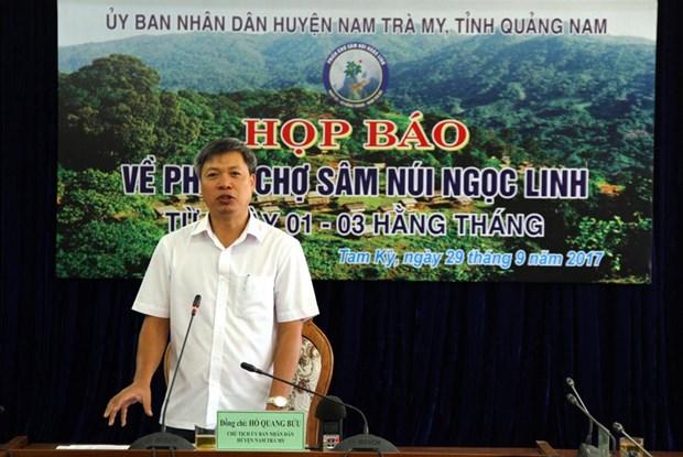 Phe chuan ket qua bau bo sung Pho Chu tich UBND tinh Quang Nam hinh anh 1