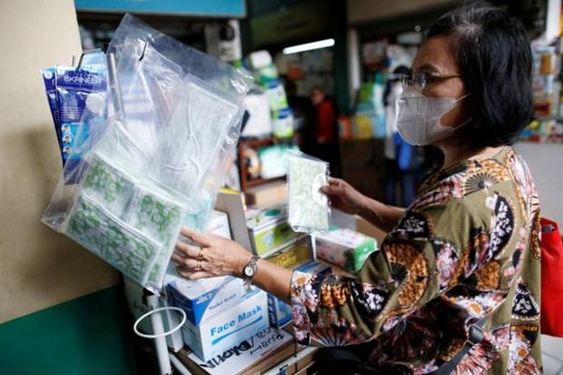 Indonesia: Jakarta se phat tien nhung nguoi khong deo khau trang hinh anh 1