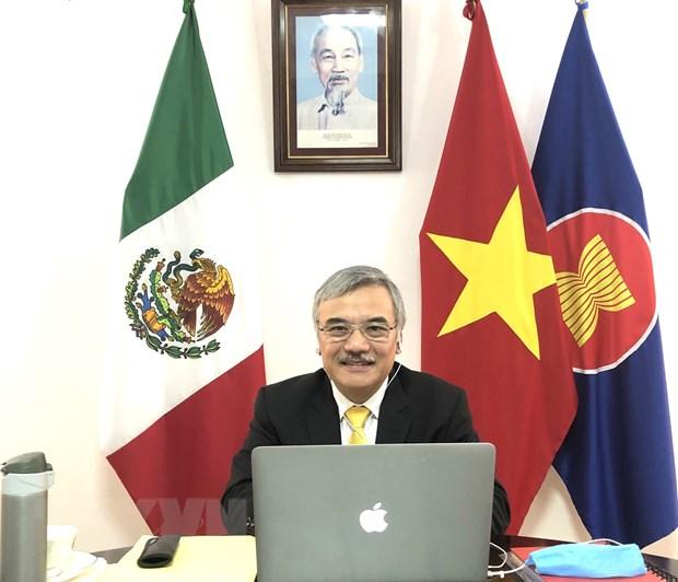 ASEAN va Mexico trao doi kinh nghiem phong chong dich COVID-19 hinh anh 1