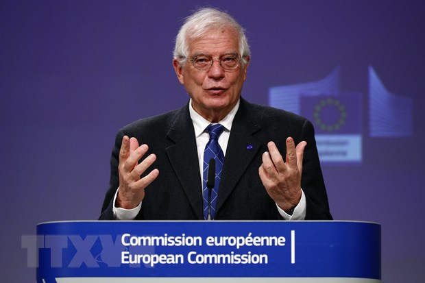 EU len an canh sat My lam quyen dan den cai chet cua George Floyd hinh anh 1