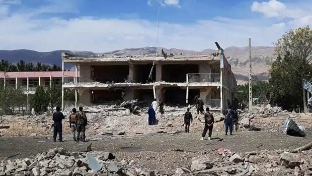 Taliban tan cong van phong cua co quan tinh bao quoc gia Afghanistan hinh anh 1
