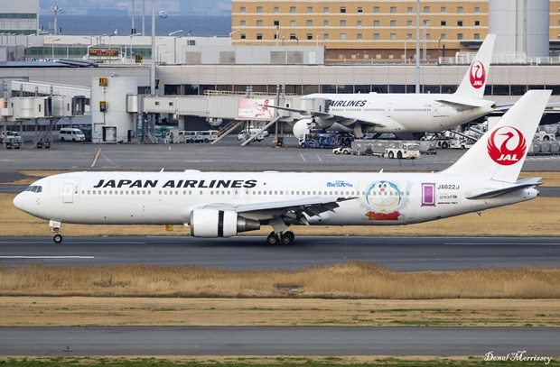 Japan Airlines lo rong 885 trieu USD trong quy 2/2020 hinh anh 1