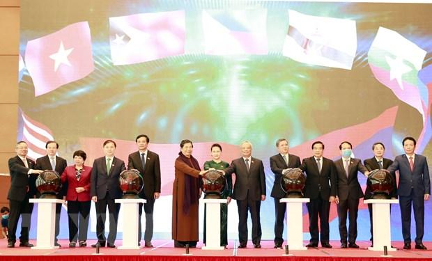 Chu tich Quoc hoi du Le cong bo bo nhan dien Nam Chu tich AIPA 2020 hinh anh 1