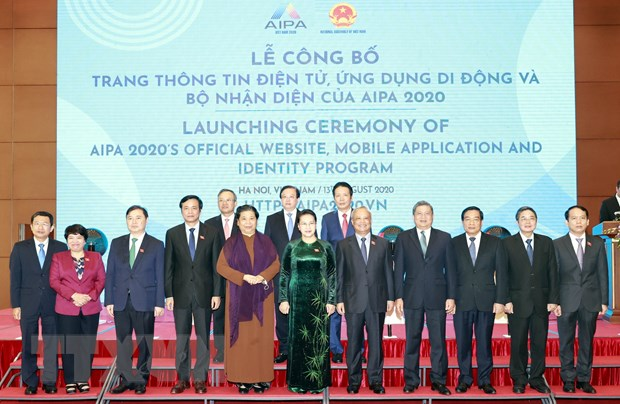 Chu tich Quoc hoi du Le cong bo bo nhan dien Nam Chu tich AIPA 2020 hinh anh 3