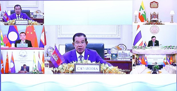 Campuchia chia se tam nhin phat trien cua Hop tac Mekong-Lan Thuong hinh anh 1