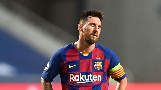 Lionel Messi chuan bi huy hop dong va roi khoi Barcelona? hinh anh 1