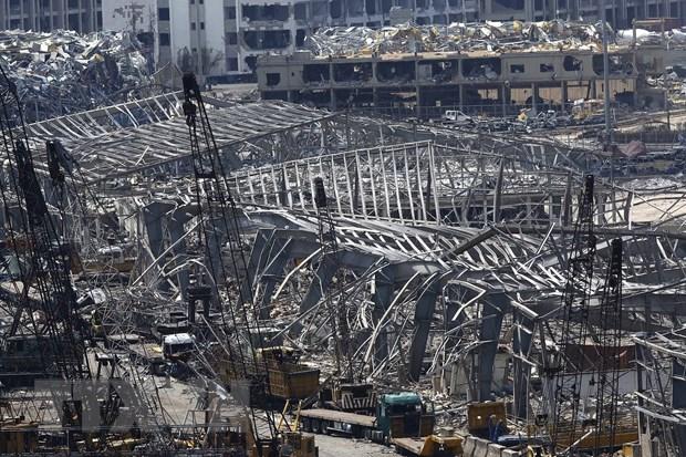 Liban bat giu 25 nghi pham lien quan vu no o Beirut hinh anh 1