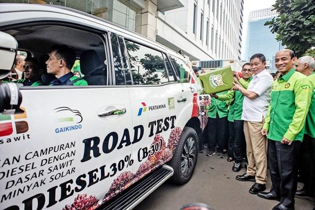 Indonesia bat dau thu nghiem dau diesel sinh hoc B40 hinh anh 1