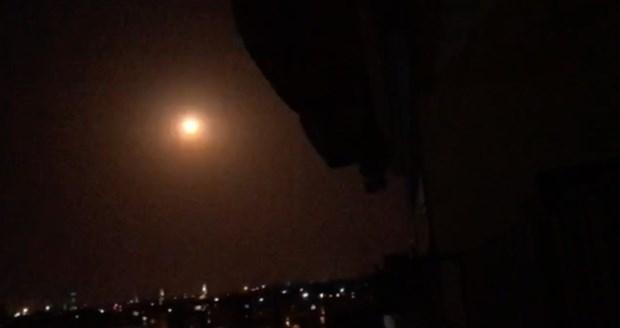 Syria tiep tuc danh chan nhieu ten lua cua Israel hinh anh 1