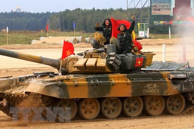 Doan Viet Nam dat thanh tich xuat sac tai Army Games 2020 hinh anh 1