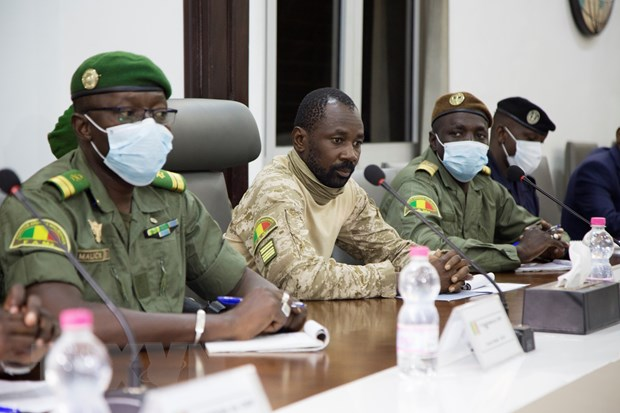 ECOWAS hoi thuc luc luong dao chinh Mali chuyen giao quyen luc hinh anh 1