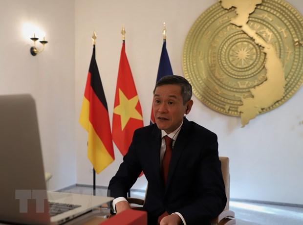 Việt Nam và Đức thúc đẩy hợp tác trong lĩnh vực công nghệ thông tin