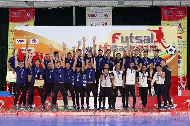 Thai Son Nam xung vuong lan thu 10 tai giai vo dich quoc gia Futsal hinh anh 1
