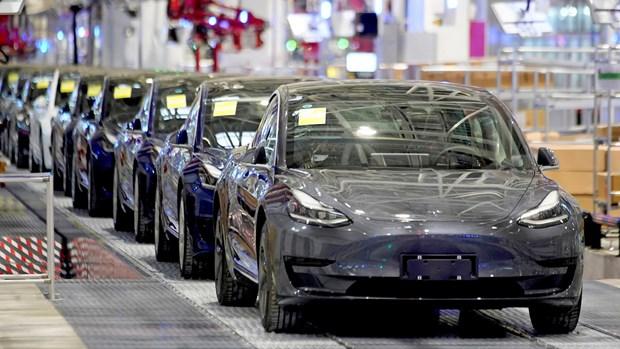 Tesla thu hoi hang chuc nghin xe tai Trung Quoc do loi giam xoc hinh anh 1