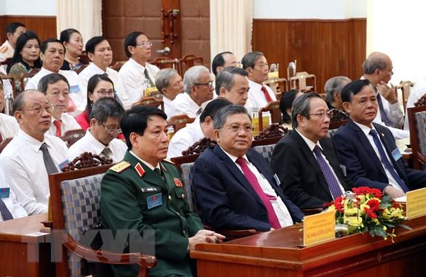 Dai hoi Dang bo Ninh Thuan: Phan dau tro thanh tinh phat trien kha hinh anh 1