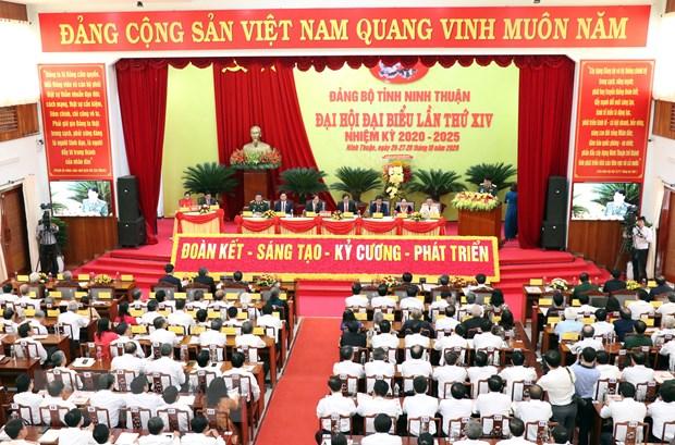 Dai hoi Dang bo Ninh Thuan: Phan dau tro thanh tinh phat trien kha hinh anh 3