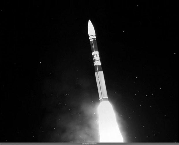 My thu nghiem ten lua dan dao xuyen luc dia Minuteman III hinh anh 1
