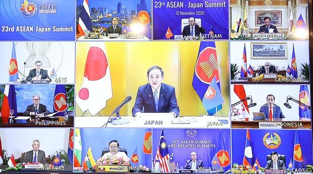 Nhat Ban thuc day quan he hop tac voi ASEAN tren nhieu linh vuc hinh anh 2