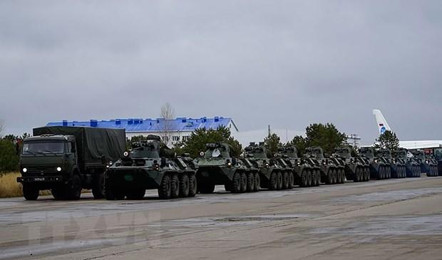 Nga, Azerbaijan va Armenia hai long ve lenh ngung ban Nagorny-Karabakh hinh anh 1