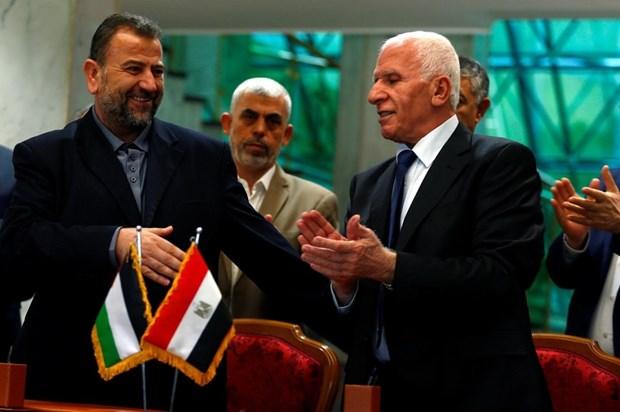 Fatah va Hamas noi lai doi thoai nham cham dut chia re noi bo hinh anh 1
