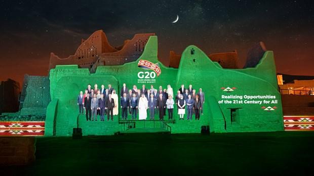 Hoi nghi thuong dinh G20 chinh thuc khai mac tai Saudi Arabia hinh anh 1
