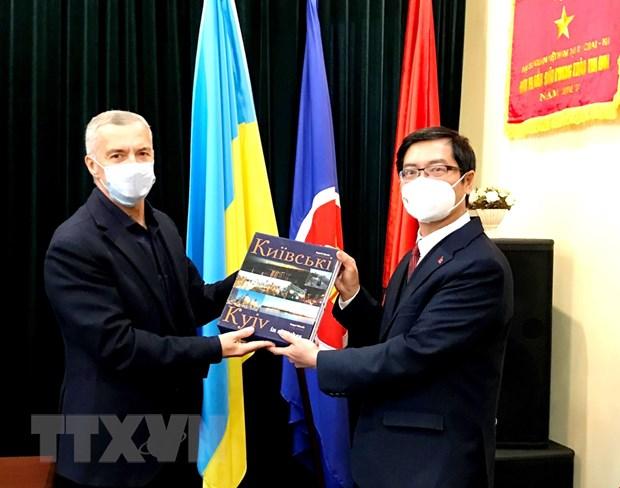 Thuc day phat trien quan he huu nghi truyen thong Viet Nam-Ukraine hinh anh 1