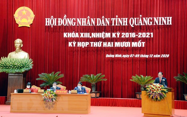 Thanh lap Van phong Doan DBQH, HDND va UBND tinh Quang Ninh hinh anh 1