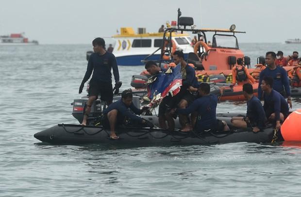 Indonesia tiep tuc tim kiem nan nhan va hop den may bay Sriwijaya Air hinh anh 1