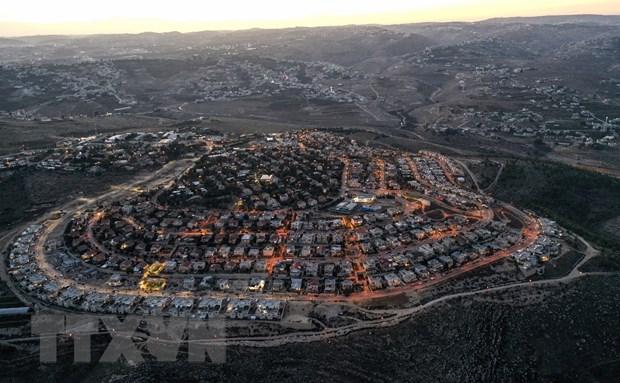 Palestine phan doi viec Israel xay hon 2.500 nha dinh cu moi hinh anh 1