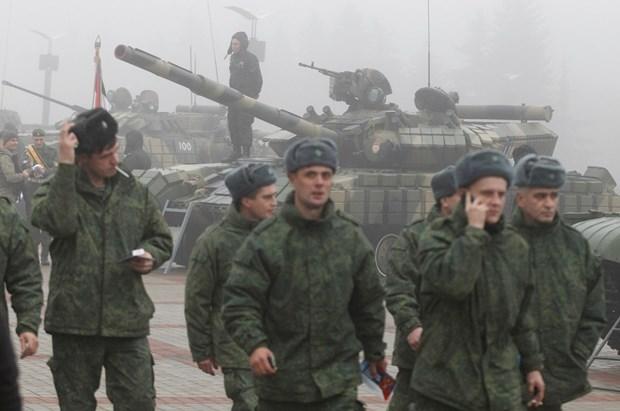 HDBA thao luan ve viec thuc hien goi thoa thuan Minsk hinh anh 1