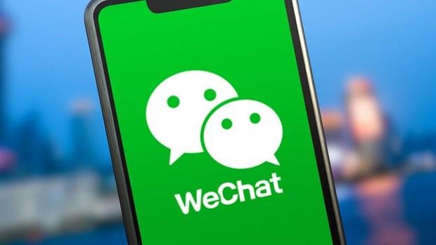 My dinh chi vu kien lien quan toi viec cam ung dung WeChat hinh anh 1