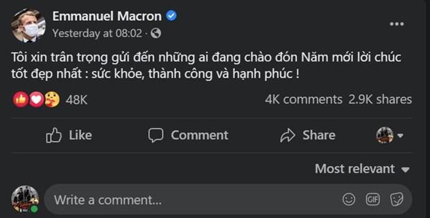 Lanh dao nhieu nuoc gui loi chuc Tet Nguyen dan bang tieng Viet hinh anh 2